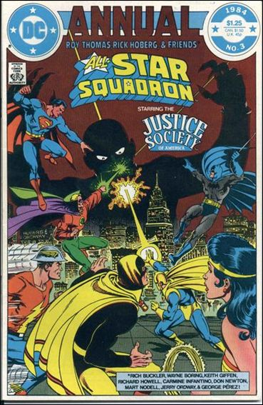 All-Star Squadron Annual 3-A by DC