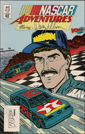 NASCAR Adventures 4-A by Vortex Comics