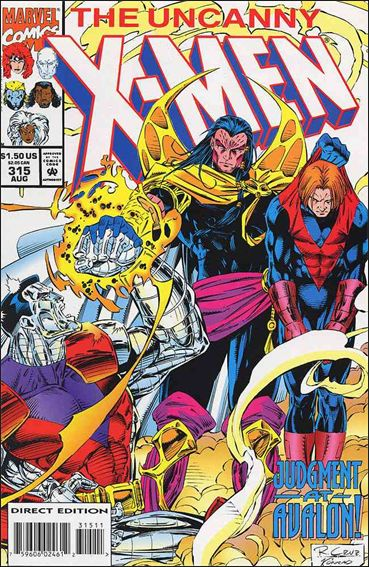 Uncanny X-Men (1981) 315-A by Marvel