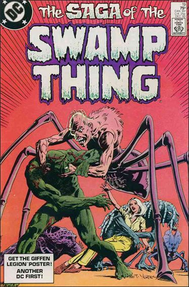 Saga of the Swamp Thing 19-A by DC