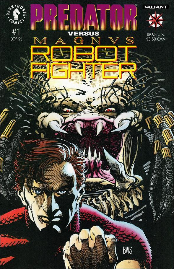 Predator vs Magnus Robot Fighter 1-A by Dark Horse