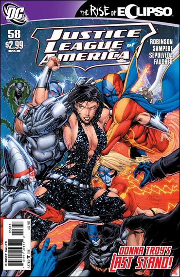 Justice League of America (2006) 58-A by DC