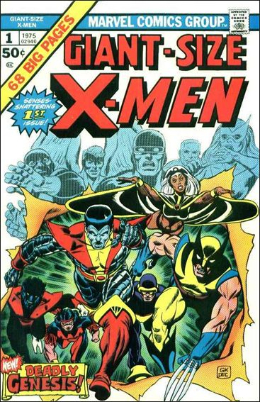 Giant-Size X-Men 1-A by Marvel