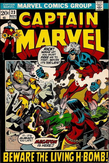 Captain Marvel (1968) 23-A by Marvel