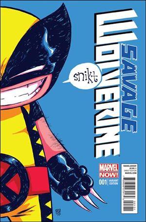 Savage Wolverine 1-E