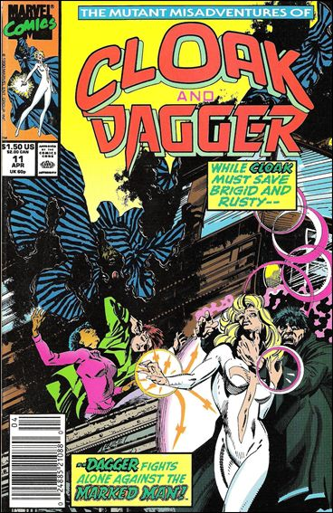 Mutant Misadventures of Cloak and Dagger 11-A by Marvel