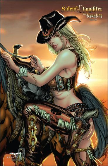 Salem's Daughter The Haunting 4-C by Zenescope Entertainment