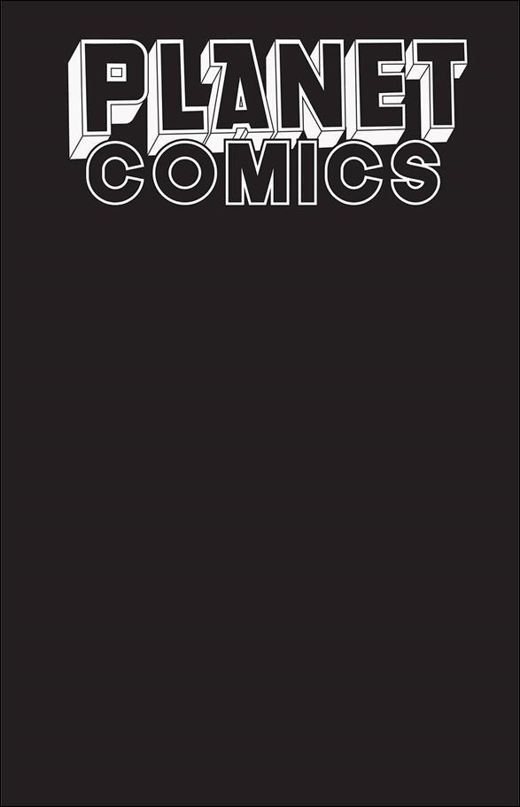 Planet Comics Sketchbook nn-B by Antarctic Press