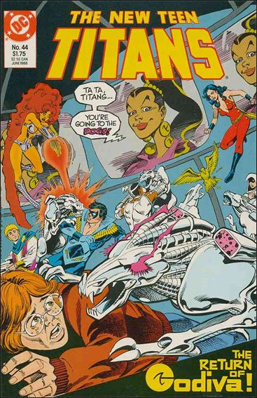 New Teen Titans (1984) 44-A by DC