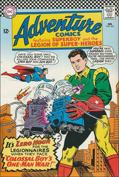 Adventure Comics (1938) 341-A by DC