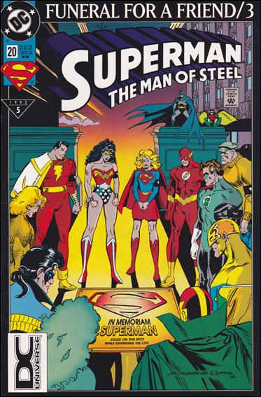 Superman: The Man of Steel 20-B by DC