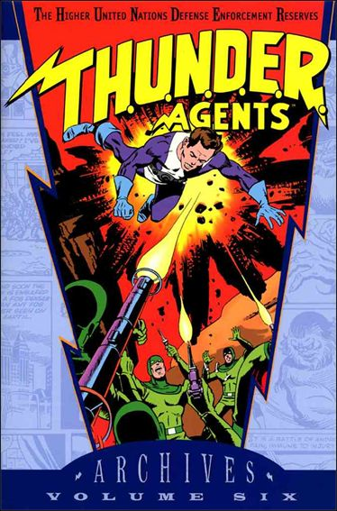 T.H.U.N.D.E.R. Agents Archives 6-A by DC