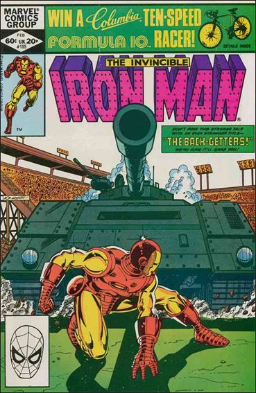 Iron Man (1968) 155-A by Marvel