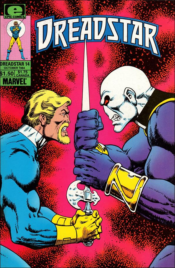 Dreadstar (1982) 14-A by Epic