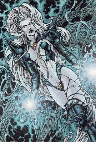 Lady Death and the Women of Chaos!: Love Bites (Base Set) 7-A