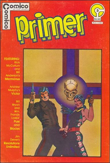 Primer (1982) 3-A by Comico