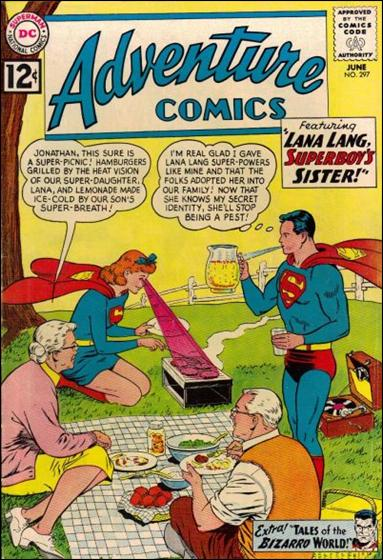 Adventure Comics (1938) 297-A by DC