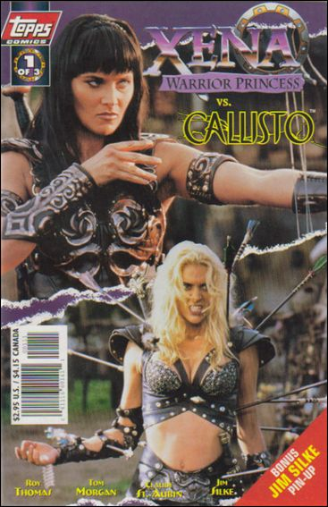 Xena: Warrior Princess vs Callisto 1-A by Topps