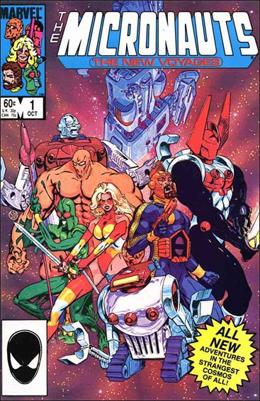 Micronauts (1984) 1-A by Marvel