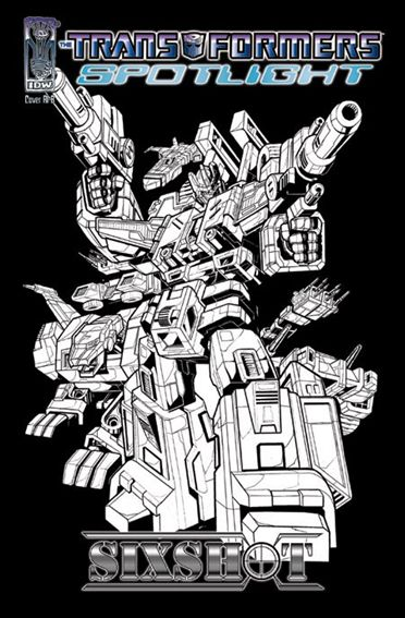 Transformers Spotlight nn4-D by IDW