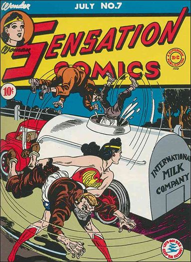Sensation Comics (1942) 7-A by DC