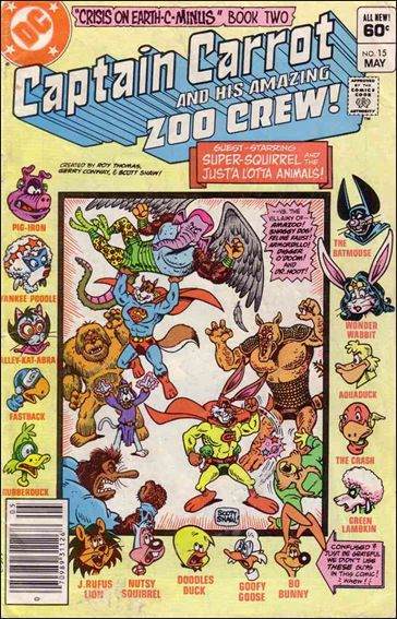 Captain Carrot and His Amazing Zoo Crew 15-A by DC