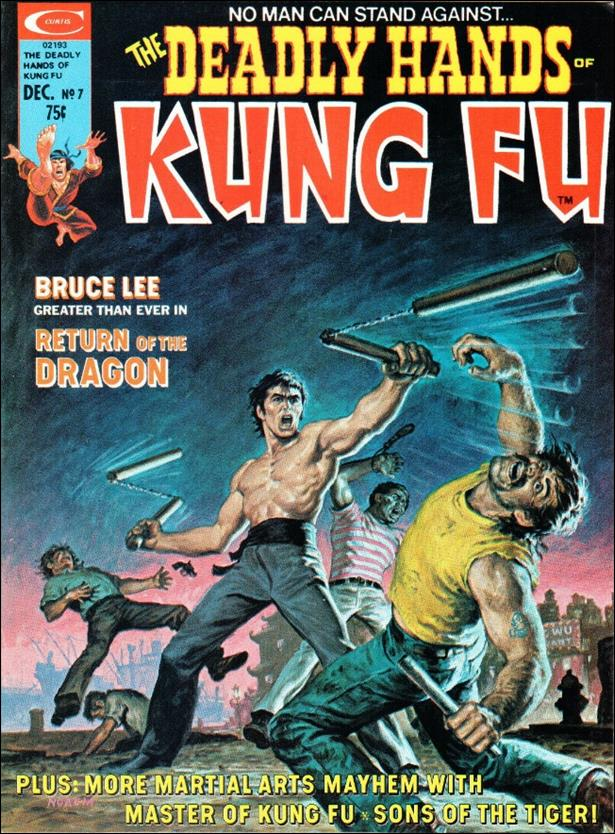 Deadly Hands of Kung Fu 7-A by Marvel