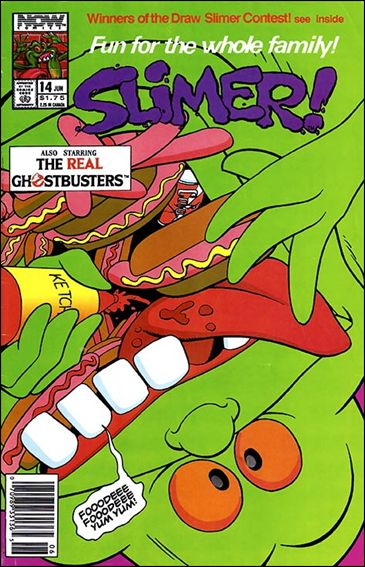 Slimer! 14-A by Now Comics