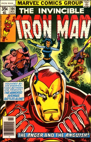Iron Man (1968) 104-A by Marvel