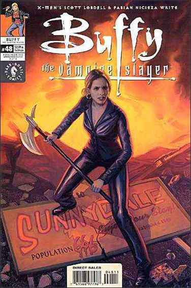 Buffy the Vampire Slayer 48-A by Dark Horse