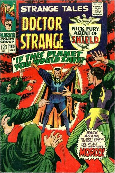 Strange Tales (1951) 160-A by Marvel