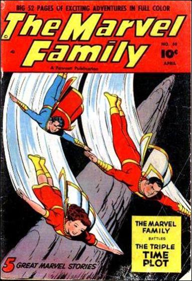 Marvel Family 58-A by Fawcett