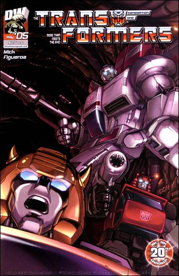 Transformers: Generation 1 (2004) 5-A by Dreamwave