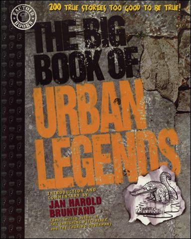 Big Book of Urban Legends nn-A by Paradox