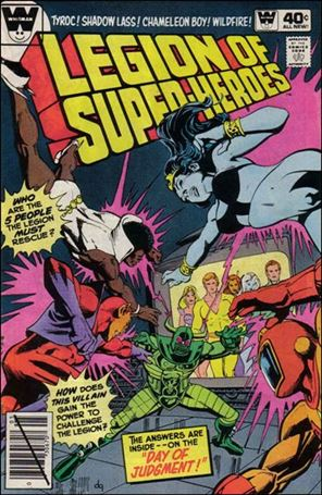 Legion of Super-Heroes (1980) 263-B