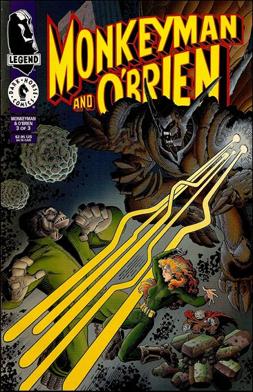 Monkeyman & O'Brien 3-A by Dark Horse