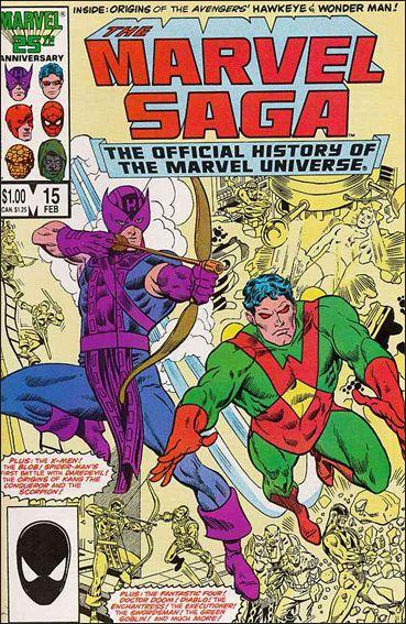 Marvel Saga 15-A by Marvel