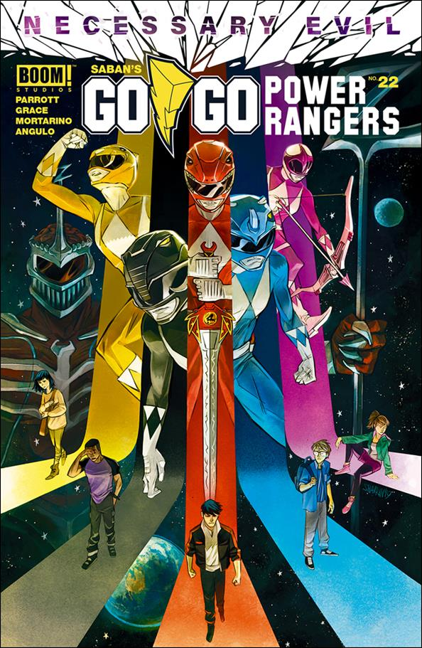Saban's Go Go Power Rangers 22-A by Boom! Studios