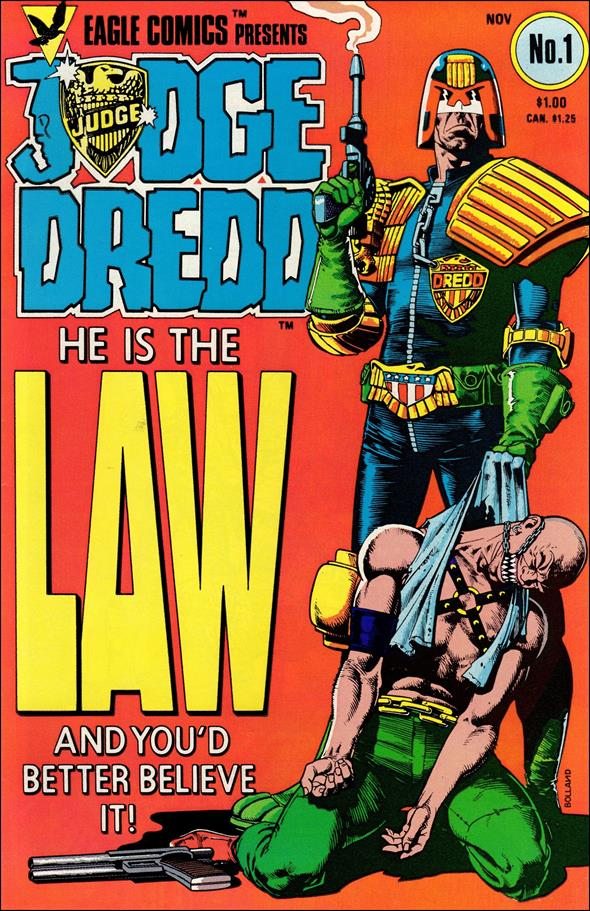 Judge Dredd (1983) 1-A by Eagle