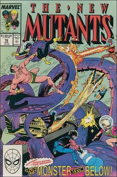 New Mutants (1983) 76-A by Marvel
