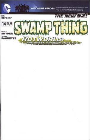 Swamp Thing (2011) 14-B by DC