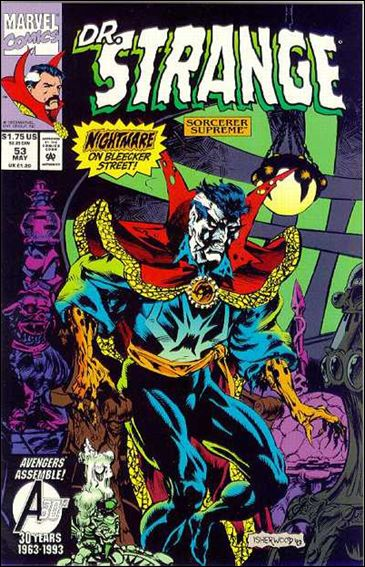 Doctor Strange, Sorcerer Supreme 53-A by Marvel