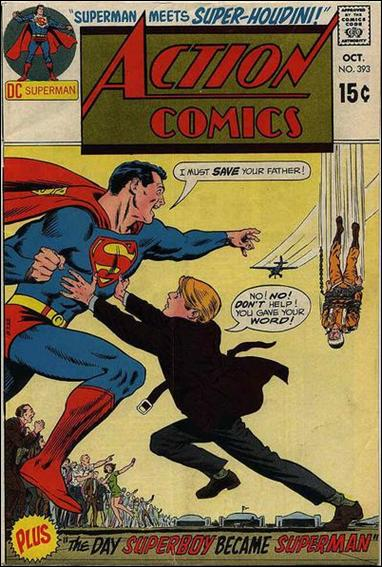 Action Comics (1938) 393-A by DC