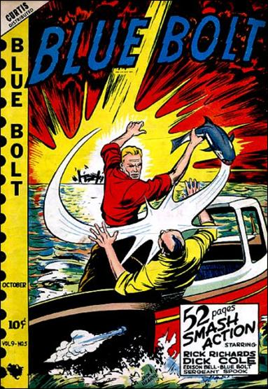 Blue Bolt (1948) 5-A by Premium