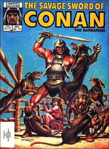 Savage Sword of Conan (1974) 119-A by Marvel