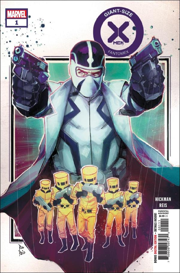 Giant-Size X-Men: Fantomex 1-A by Marvel