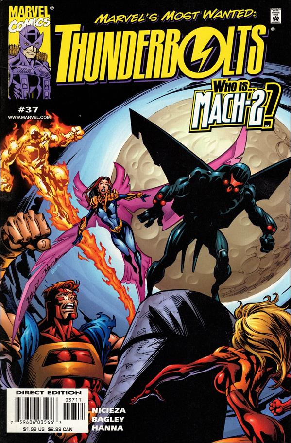 Thunderbolts (1997) 37-A by Marvel