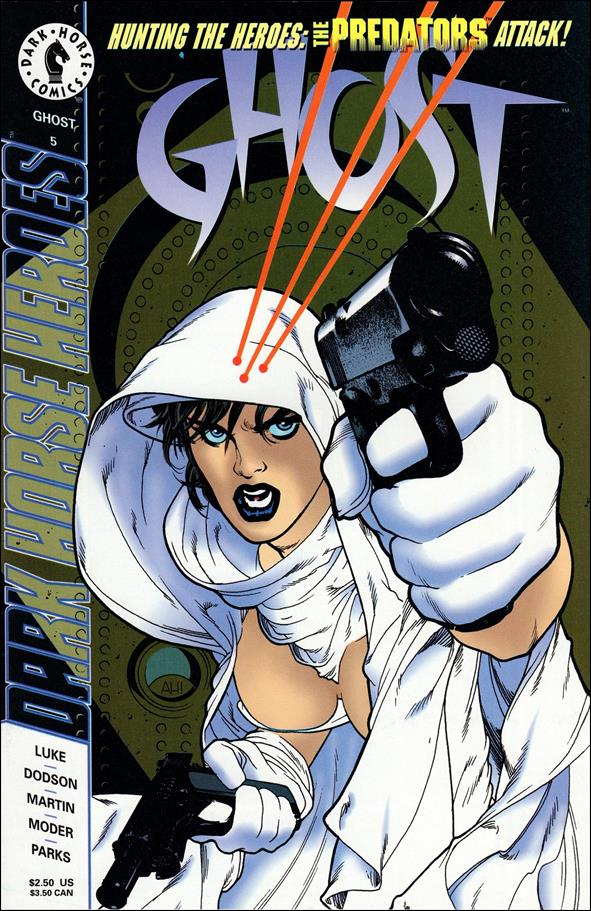 Ghost (1995) 5-A by Dark Horse