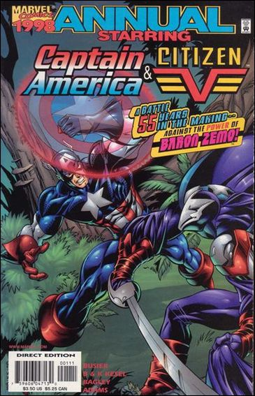 Captain America Annual 1998-A by Marvel