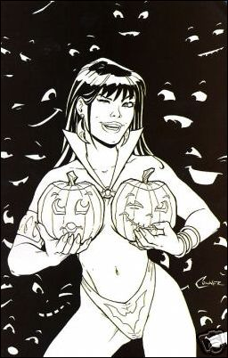 Vampirella 2006 Halloween Special 1-E by Harris